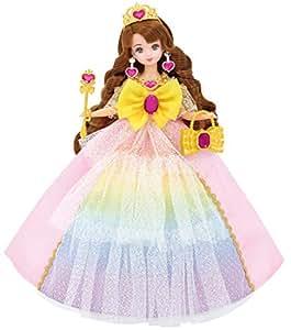 リカちゃん ドレス ゆめみるお姫さま レインボー ファンタジアドレス