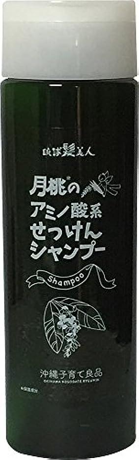 上広告するケーブルカー沖縄子育て良品 月桃のアミノ酸系せっけんシャンプー 230ml