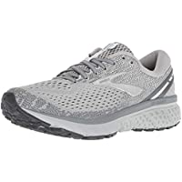 Brooks Australia Women's Ghost 11 Road Running Shoes, Grey/Silver/White, 8 US