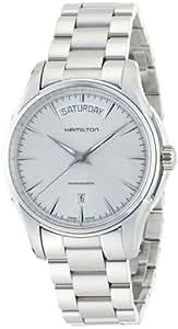 [ハミルトン]HAMILTON 腕時計 Jazzmaster Day Date(ジャズマスター デイデイト) シルバーダイヤル H32505151 メンズ 【正規輸入品】