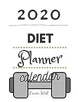 2020 Diet Plannet Calendar: Diet-Planner-Trim-Size-Shopping-List-Keto-2020-Calendar-6-x-9-no-bleed-111-pages-cover-size-12.52-x-9.25-inch