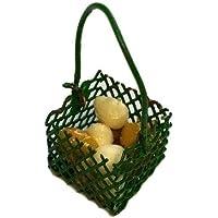 ミニチュア 37-210 カゴと卵