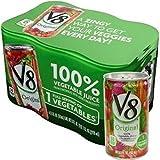 キャンベル V8野菜ジュース 163ml缶×24本入×(2ケース)