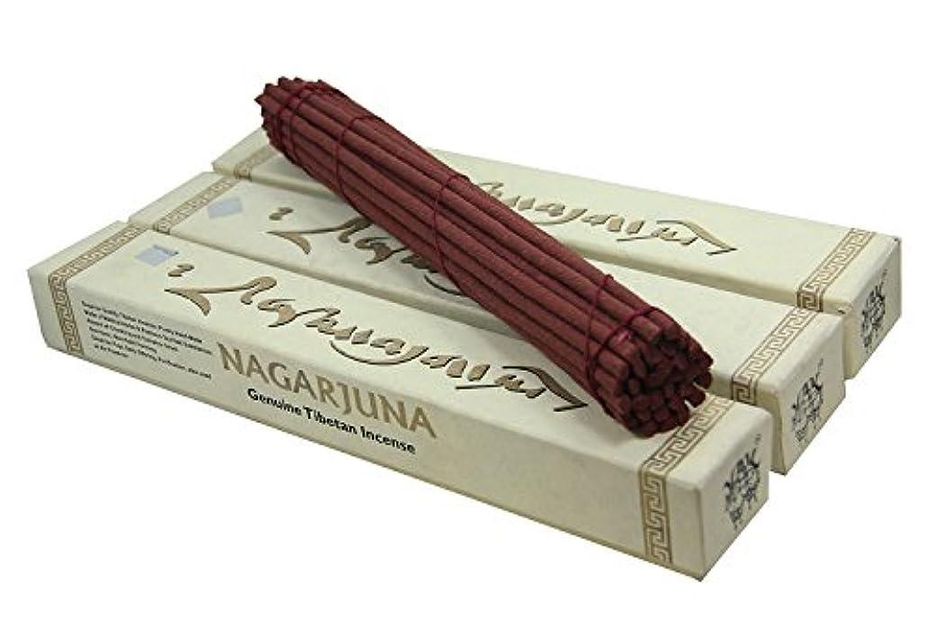 従うぜいたく作り上げる~ 3ボックスチベット元Nagarjuna Healing Incense ~