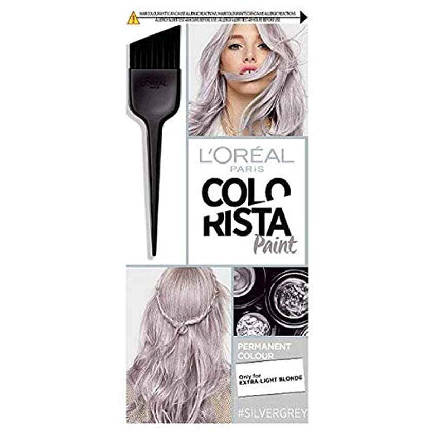 [Colorista] Colorista髪は10.1シルバーグレーペイント - Colorista Hair Paint 10.1 Silver Grey [並行輸入品]