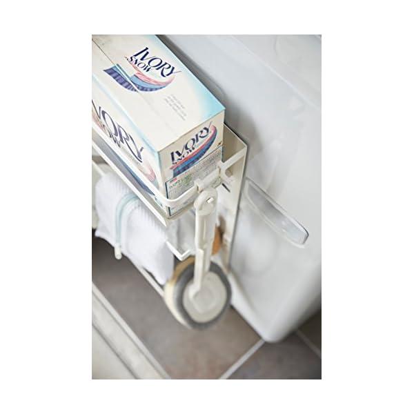 山崎実業 収納ラック 洗濯機横マグネット収納ラ...の紹介画像5