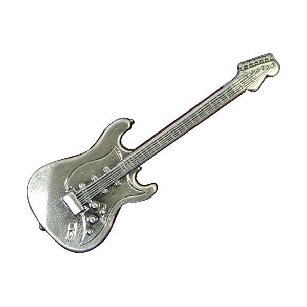 ナカノ スタンダードブローチ エレキギター シル...の商品画像