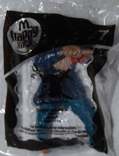 2008 McDonald's Happy Meal Toy Pirates of the Carribean #7 Davy Jones MIP Fast Food Collectible Action Figure by McDonald's [병행수입품]-