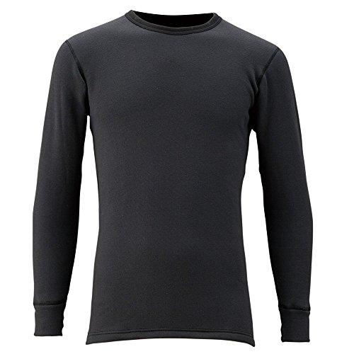 フリーノット(FREE KNOT) レイヤーテックアンダーシャツ シープバック超厚手 M ブラック Y1619-M-90