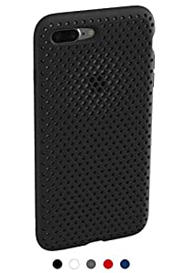 【AndMesh】 iPhone 8 Plus ケース / iPhone 7 Plus Mesh Case | ブラック 黒 AMMSC711-BLK