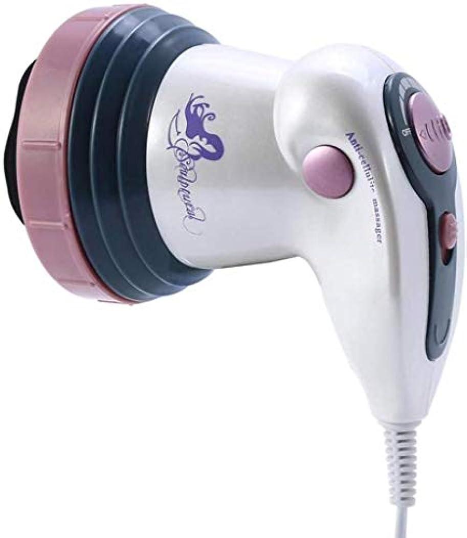 感嘆符光景内陸減量のマッサージ、ボディスリミングボディ削除脂肪マッサージ装置、赤外線理学療法マッサージボディエレクトリック減量機、ファットバーナー (Color : 紫の, Size : One size)