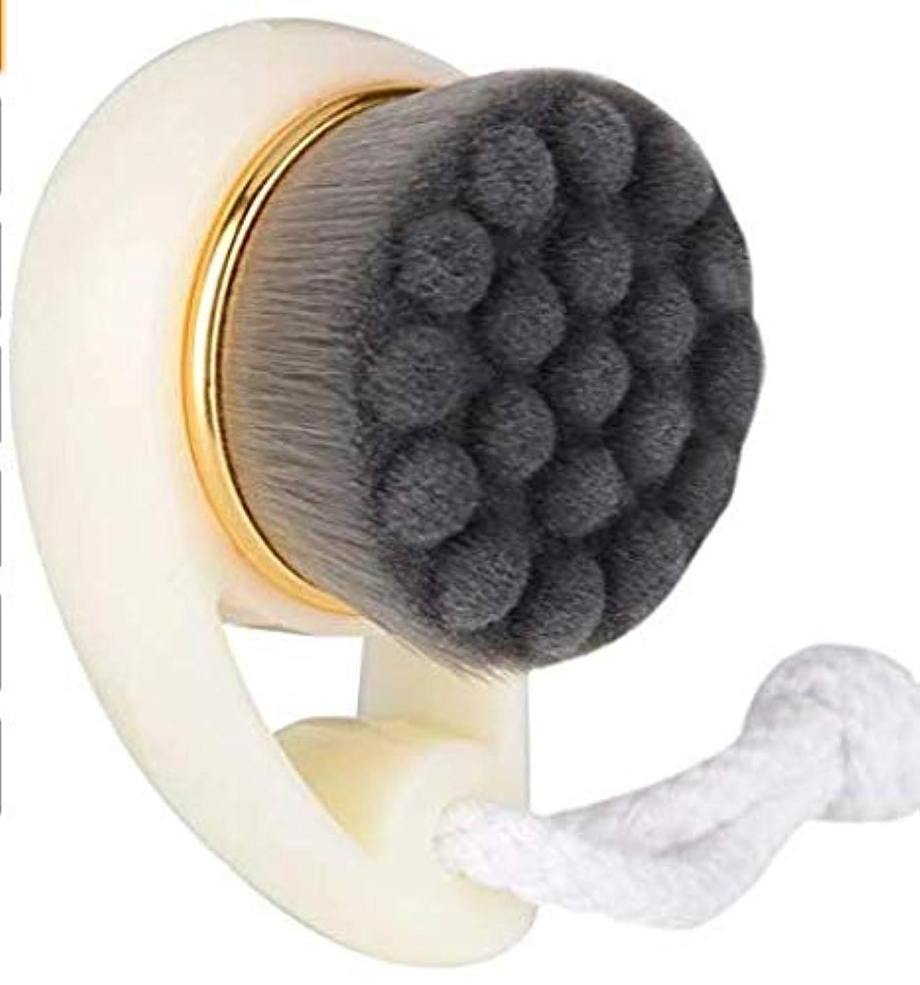 ステーキキー音楽化粧ブラシ、手動毛穴、マッサージ、美容製品、美容製品、にきび毛穴、きれいな肌、毛穴