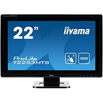 iiyama ディスプレイ モニター T2253MTS-GB1 21.5インチ/フルHD/5ポイントマルチタッチ機能/HDMI付