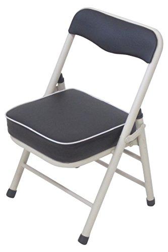 武田コーポレーション 【折りたたみ椅子・パイプ椅子・チェア・キッチンチェア】 背付き 折りたたみチェアー・ロータイプ