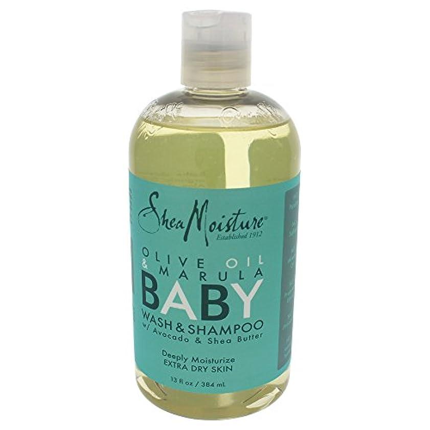 承知しました巻き戻す人気Shea Moisture, Olive & Marula Baby Head-To-Toe Wash & Shampoo, 12 fl oz (355 ml)