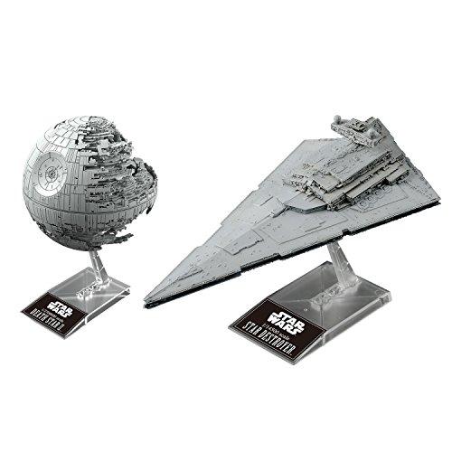 Star Wars 1/2, 700000 death-star II.&1 / 14, 500 スター / destroyer color plastic model