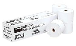 カシオ レジ用ロールペーパー 5個入 TRP-5880X5