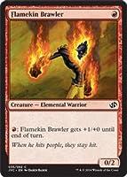 英語版 デュエルデッキ アンソロジー Duel Decks: Anthology DDA 炎族の喧嘩屋 Flamekin Brawler マジック・ザ・ギャザリング mtg