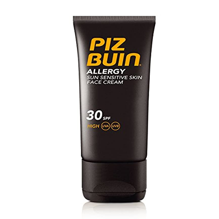 過去飼い慣らす故障Piz Buin Allergy Sensitive Face Spf 30 50ml [並行輸入品]