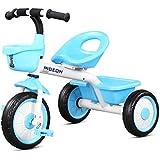 幼児の三輪車のスポーツ三輪車の漸進的なバランスのバイクの三輪車の古典的な小さな三輪車の操縦と散歩Trike ( Color : 3 )