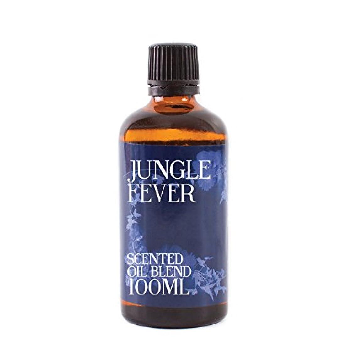 療法処理する蒸留Mystic Moments | Jungle Fever - Scented Oil Blend - 100ml