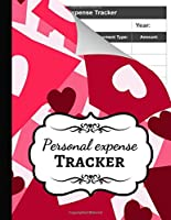 Personal Expense Tracker: Monthly Budget Planner Organizer / Ledger Book Worksheets / Budgeting Workbook