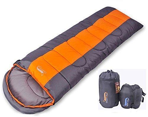 寝袋 封筒型 軽量 防水 コンパクト アウトドア 登山 車中泊 丸洗い 1kg 1.4kg 1.8kg オールシーズン 夏用 冬用 収納袋付き