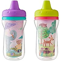 The First Years Super Chill Insulated Sippy Cup, 9 Ounce,Designs and Colors May Vary by The First Years
