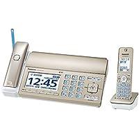パナソニック おたっくす デジタルコードレスFAX 子機1台付き 迷惑電話対策機能搭載 シャンパンゴールド KX-PD725DL-N