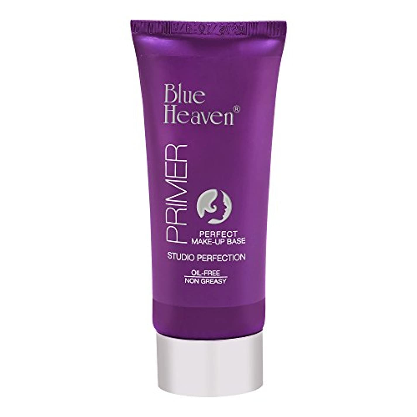 ラメ札入れ器官Blue Heaven Studio Perfection Primer, Clear, 30g
