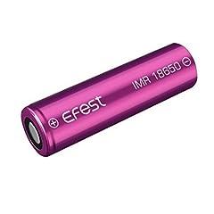 (正規品) 2017 新パッケージ 2本セット Efest リチウムマンガンバッテリー フラットトップ IMR 18650 LI-MN (3000mAh 35A)