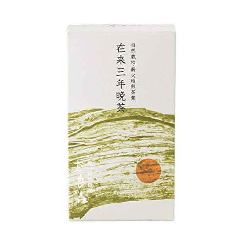 自然栽培 三年番茶 国産 奈良の森 3g×12個 無農薬 除...