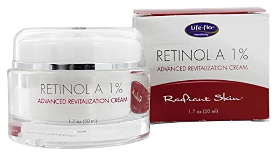 農業緊張するバッテリー海外直送品 Life-Flo Retinol A 1% Advanced Revitalization Cream, 1.7 oz