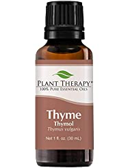 Plant Therapy Thyme Thymol Essential Oil. 100% Pure, Undiluted, Therapeutic Grade. 30 ml (1 oz). by Plant Therapy...