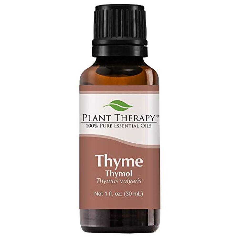 あいさつ飛び込む利得Plant Therapy Thyme Thymol Essential Oil. 100% Pure, Undiluted, Therapeutic Grade. 30 ml (1 oz). by Plant Therapy...