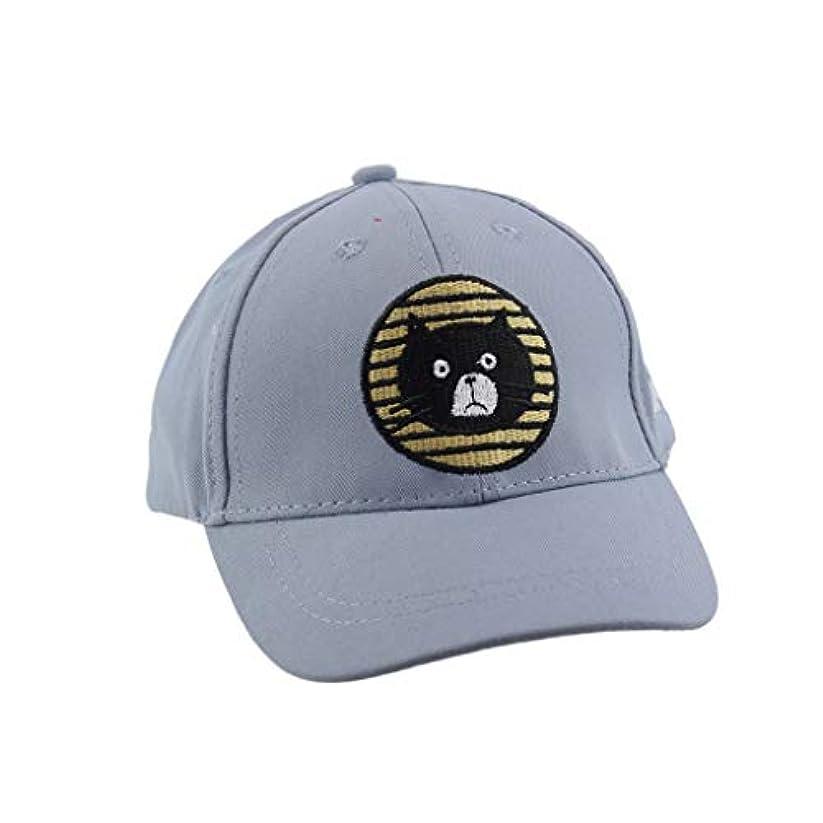 ピービッシュクローン可聴Kaiweini 春夏新しい漁夫帽子供しゃれ ベビー帽 通気性抜群 日除け UVカット 紫外線対策スポーツ帽子男女兼用 速乾 軽薄 日よけ野球帽