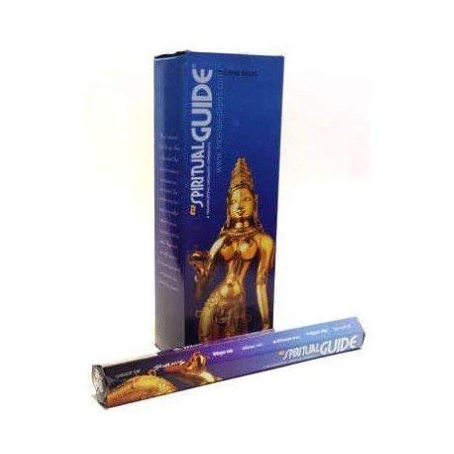 染色以降性差別Spiritual Guide stick incense 20 pack by Padmini
