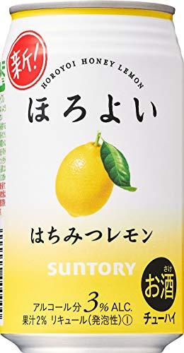 正直一番うまい「レモンサワー」ランキング1位は「ほろよい〈はちみつレモン〉」