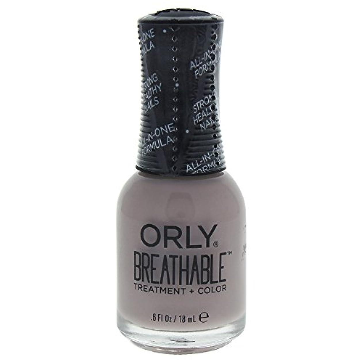 混乱防腐剤散るOrly Breathable Treatment + Color Nail Lacquer - Staycation - 0.6oz / 18ml