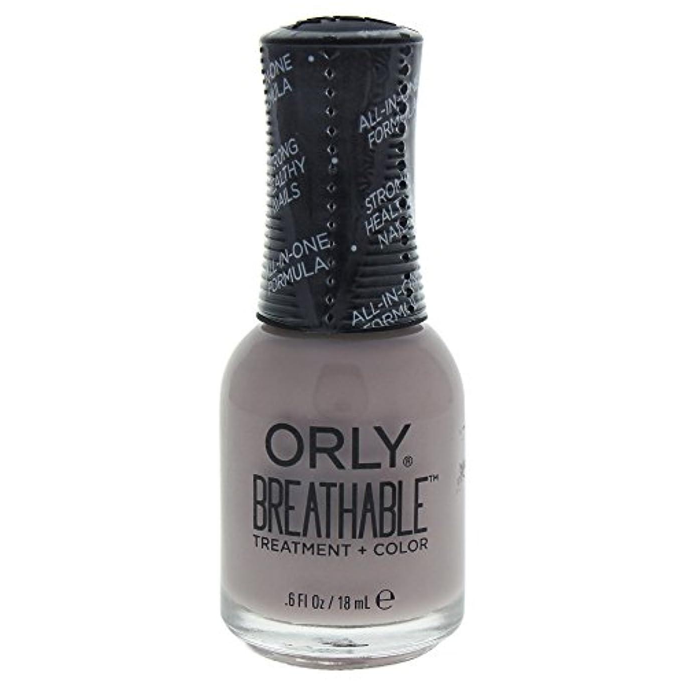 救いハミングバード忠実なOrly Breathable Treatment + Color Nail Lacquer - Staycation - 0.6oz / 18ml