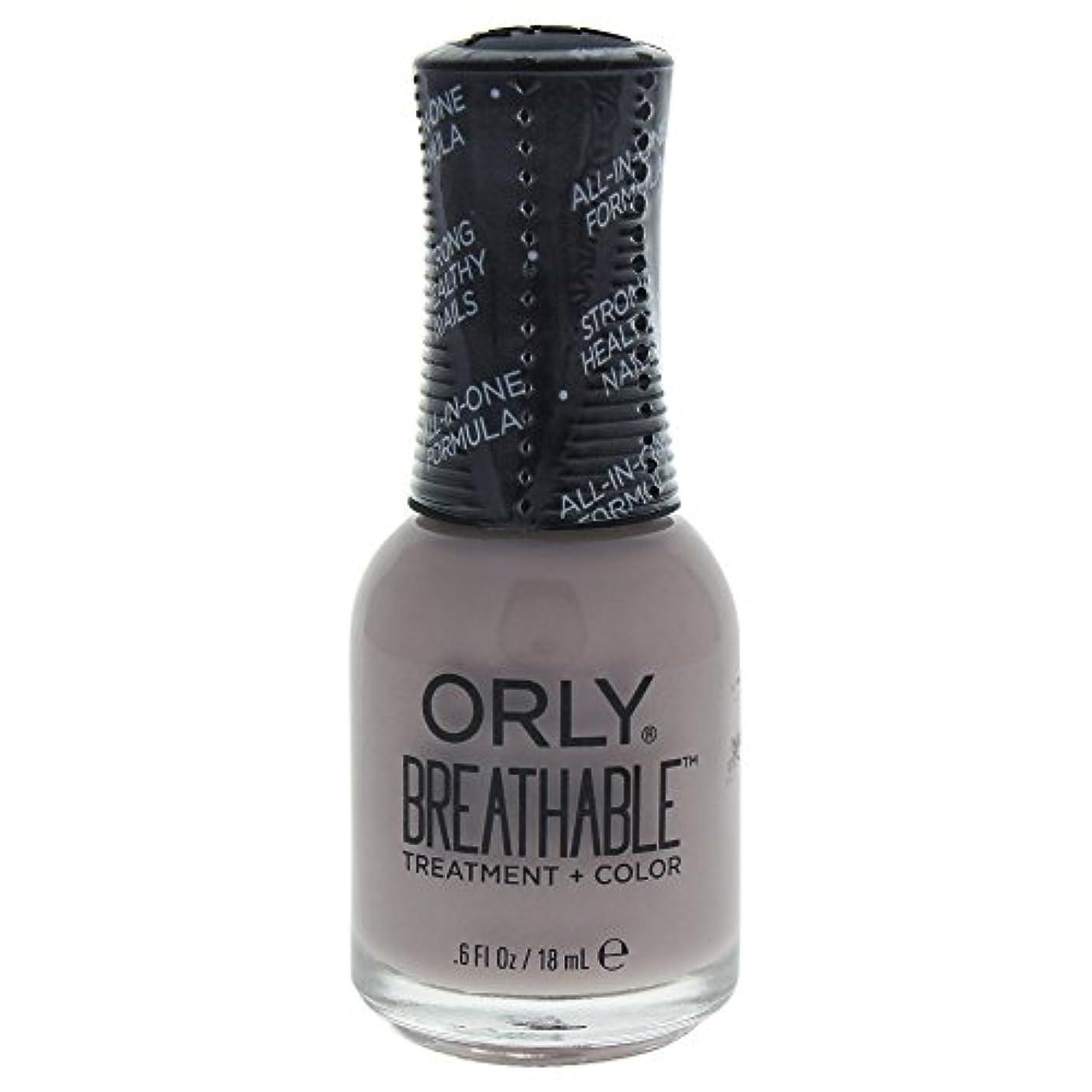 バトル歴史家一部Orly Breathable Treatment + Color Nail Lacquer - Staycation - 0.6oz / 18ml