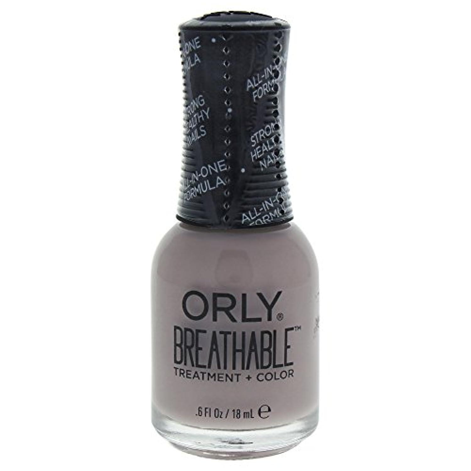 放射能接続されたブリッジOrly Breathable Treatment + Color Nail Lacquer - Staycation - 0.6oz / 18ml