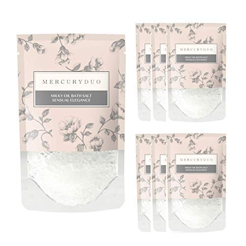 マーキュリーデュオ MERCURYDUO バスソルト オイル入り フレグランスバスソルト 7個入箱 [ 浸かる乳液 ] しっとり 保湿 発汗 入浴剤 1包 45g