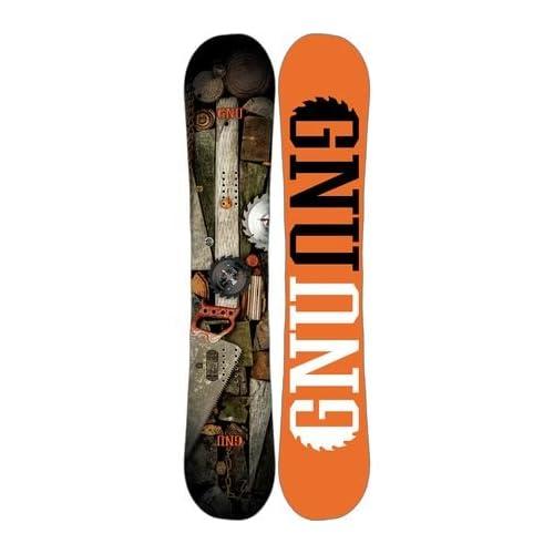 Gnu Riders Choice C2 PBTX Snowboard - Wide 158cm [並行輸入品]