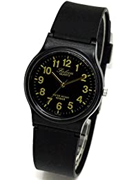 [キューアンドキュー ファルコン]Q&Q チープシチズン 腕時計 10気圧防水 ラバー レディース キッズ VP46 VP46-853 ブラックゴールド [並行輸入品]