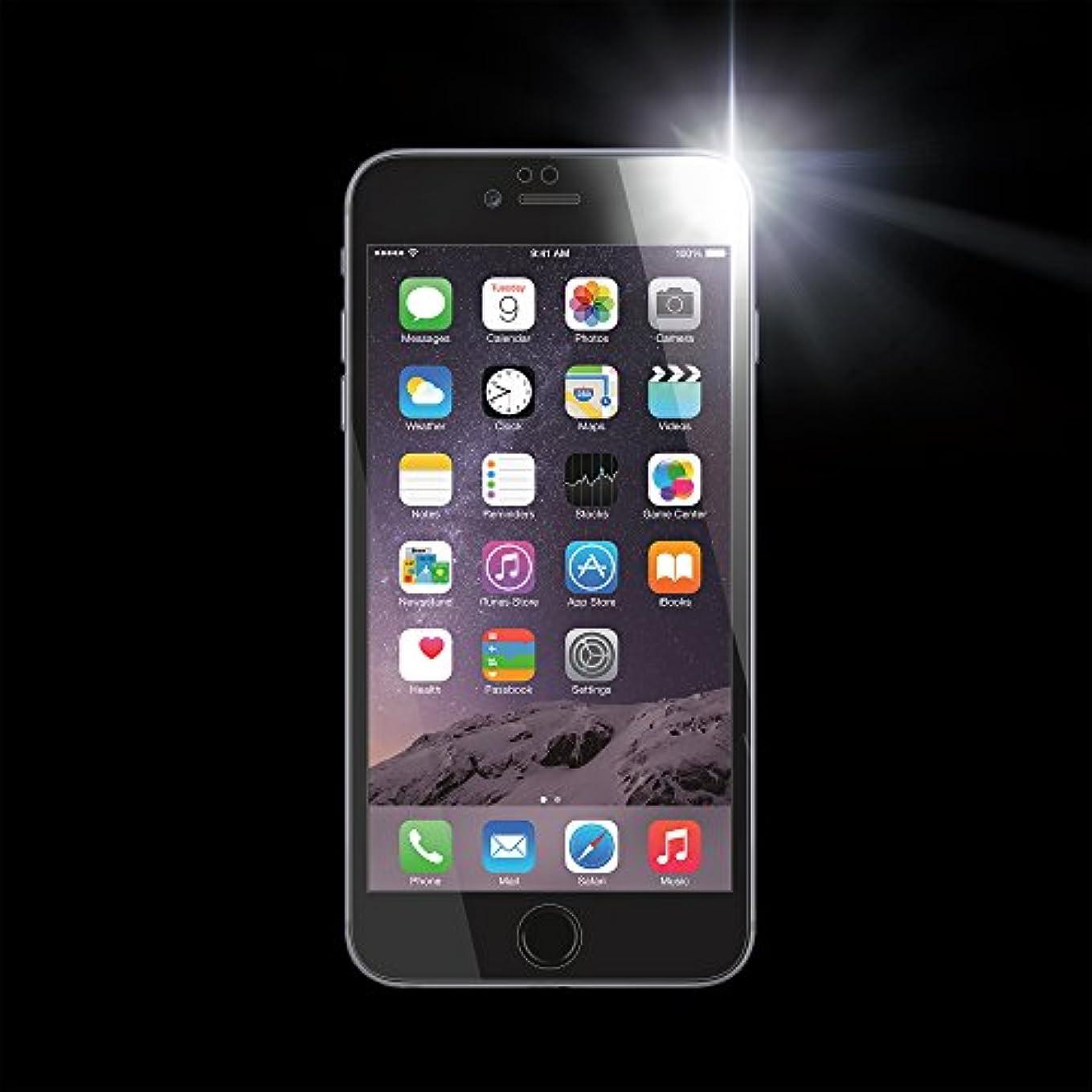 輝度忘れられない明快DEFF ハイグレード ガラススクリーンプロテクター for iPhone6 Plus/6S Plus フルフロント ブラック DG-IP6PFG3FBK