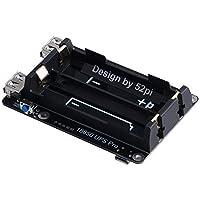 Raspberry Pi 3B/3B +用のUPS電源モジュール拡張ボード(Plus)