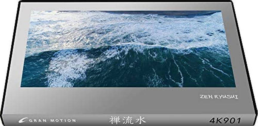 交流する戦士スキム4K901_4K動画素材集グランモーション 禅流水 ZEN RYUSUI(ロイヤリティフリーDVD素材集)