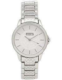 [コーチ] 時計 レディース COACH ニュークラシックシグネチャー 腕時計 ウォッチ シルバー [並行輸入品]