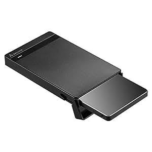 Salcar USB3.0 2.5インチ HDD/SSDケース sata接続 9.5mm/7mm厚両対応 UASP対応 簡単脱着5Gbps 18ヶ月保証